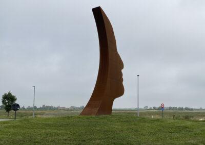 """Kunstwerk """"PROUD"""" in Knokke"""